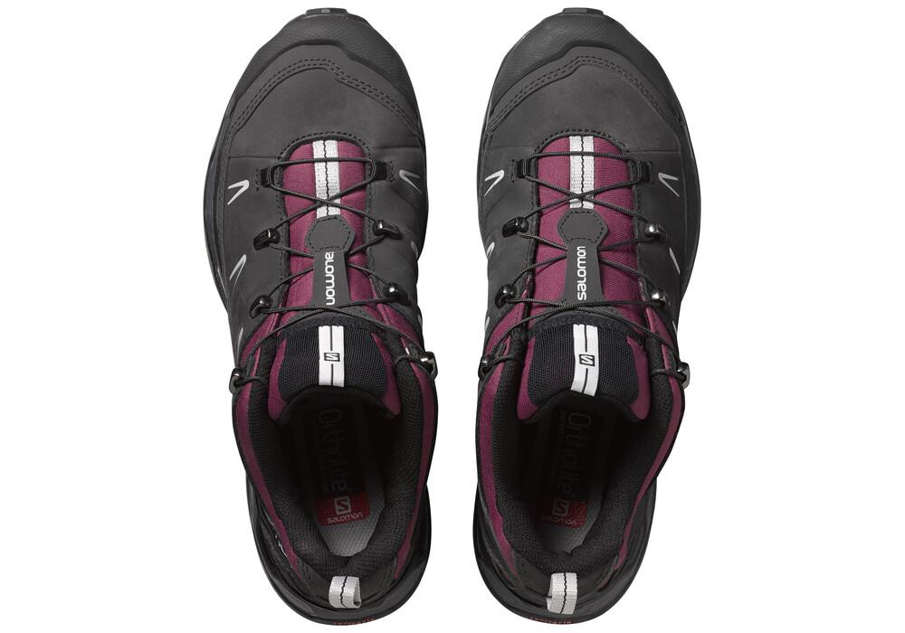 Grey Columbia Hiking Shoes Women